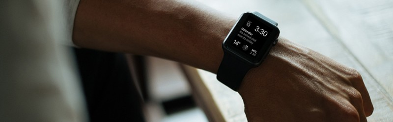 Apple Watch wearable calendar notification