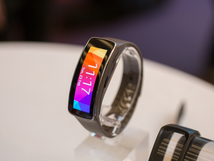 Samsung Gear Fit wearable