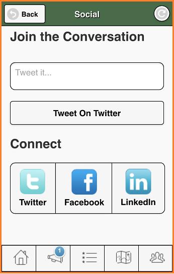 RAH app social media