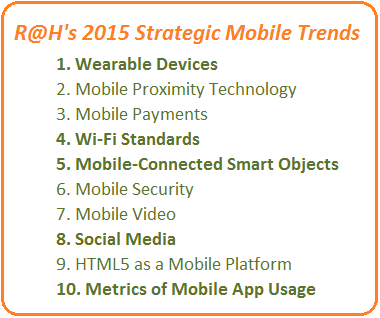 R@H 2015 strategic mobile trends list