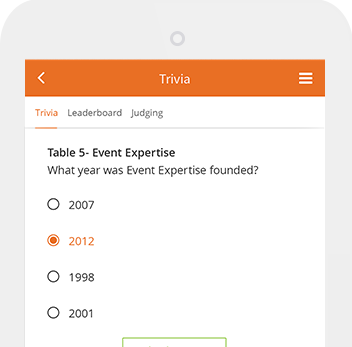 mobile app sponsorship trivia gamification
