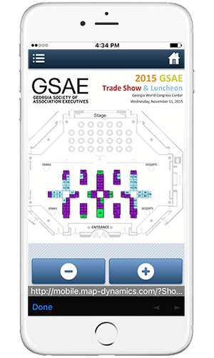 GSAE app with Map Dynamics