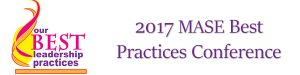 MASE Best Practices Conference 2017 conference app header