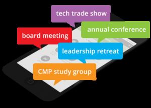 Membership app multi event app in phone