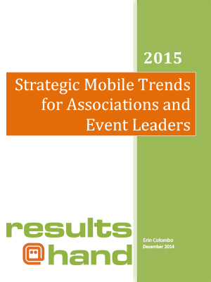 2015 Strategic Mobile Trends for Associations and Event Leaders