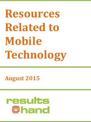 Resources related to mobile technology