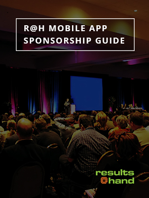 R@H mobile app sponsorship guide cover
