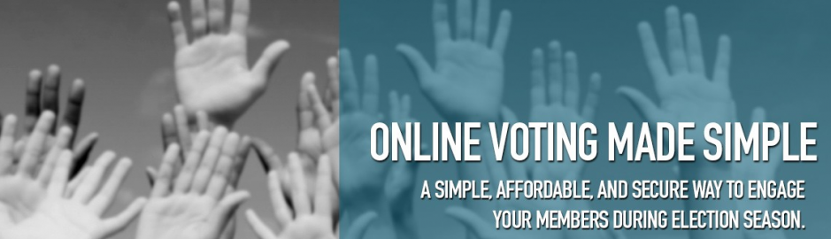 Association Voting mobile app integration banner