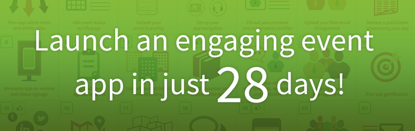 Launch an Engaging Event App in Just 28 Days banner