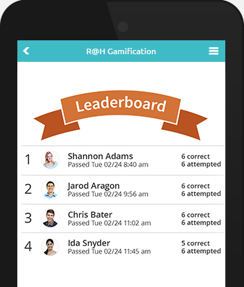 Gamification is part of our event management platform
